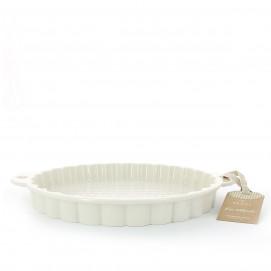 Moule à tarte en porcelaine