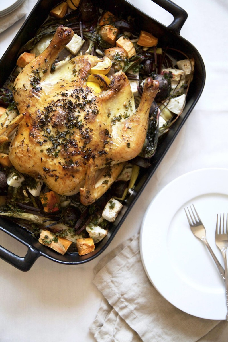 Perfect Roast Chicken by Runway Chef