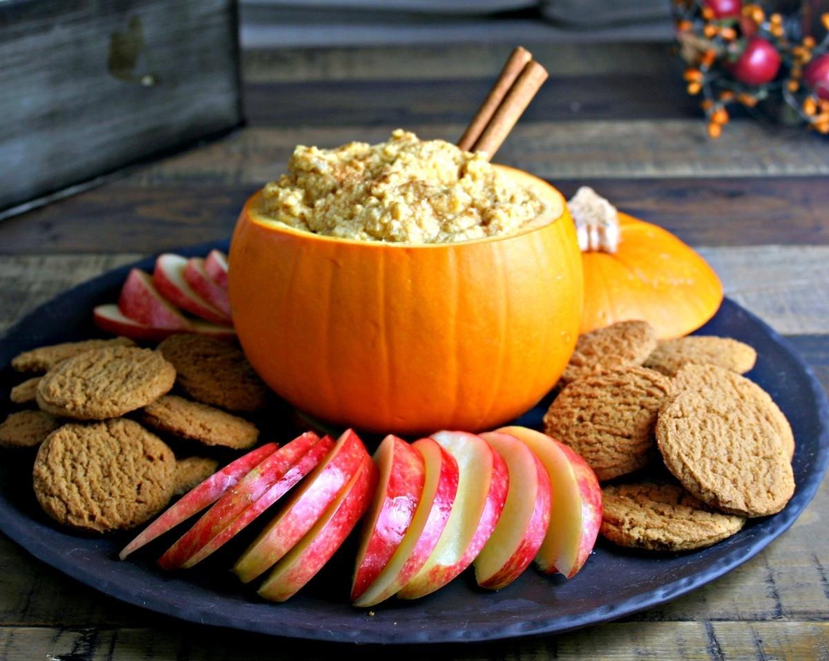 Pumpkin Mascarpone Dip by Life Love and Good food