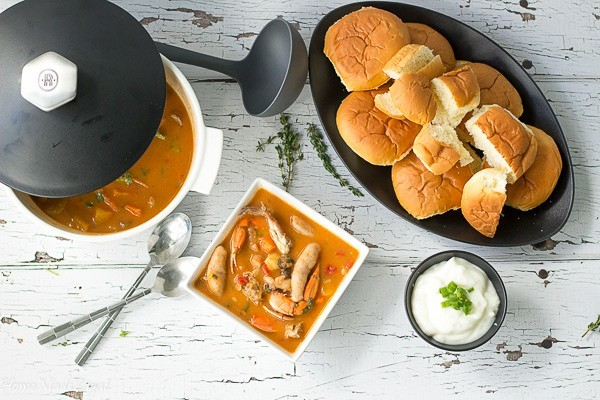 CARIBBEAN SEAFOOD SOUP by homemade Zagat