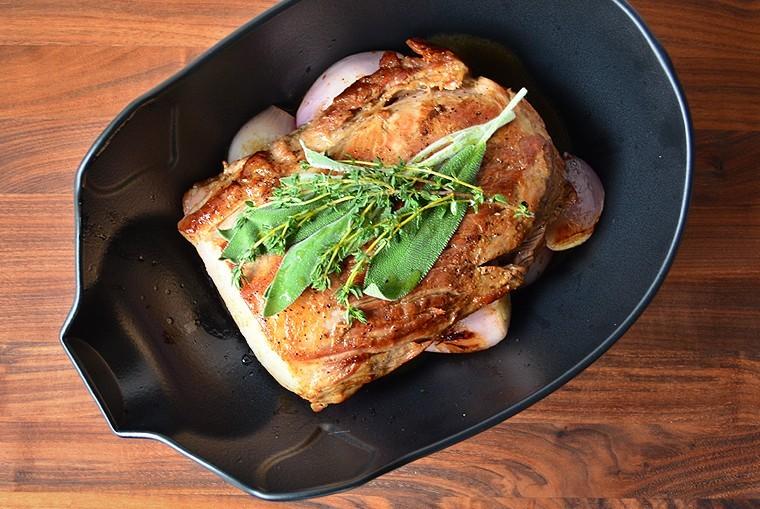 A Cook's Canvas Roasted Pork Loin