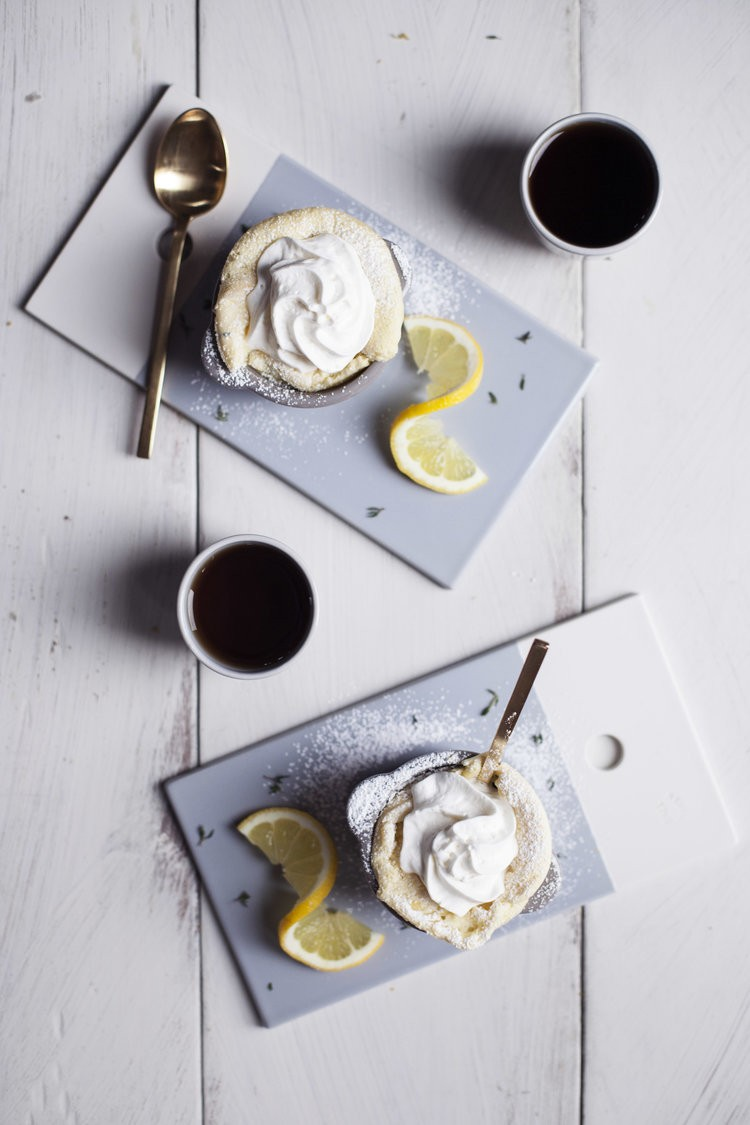 Lemon and tyhme souffle by Modest Marce