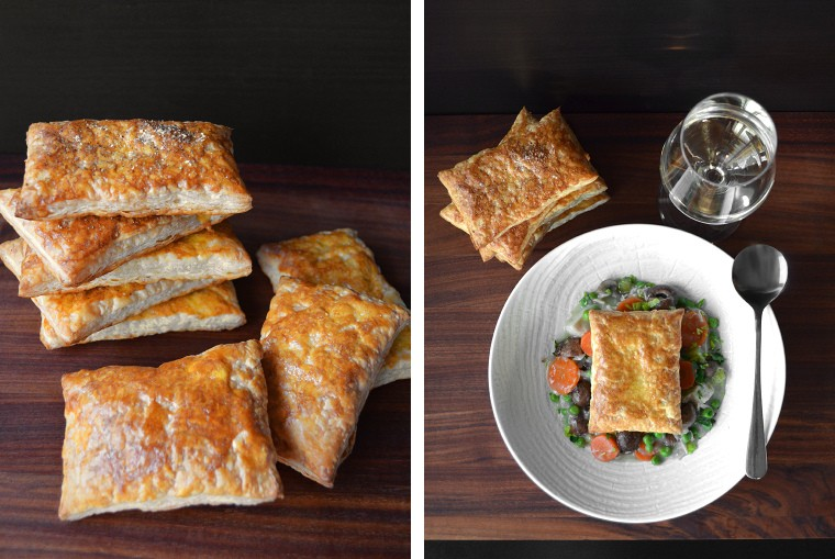 Quick and Easy Chicken Pot Pie with Puff Pastry by A Cook's Canvas
