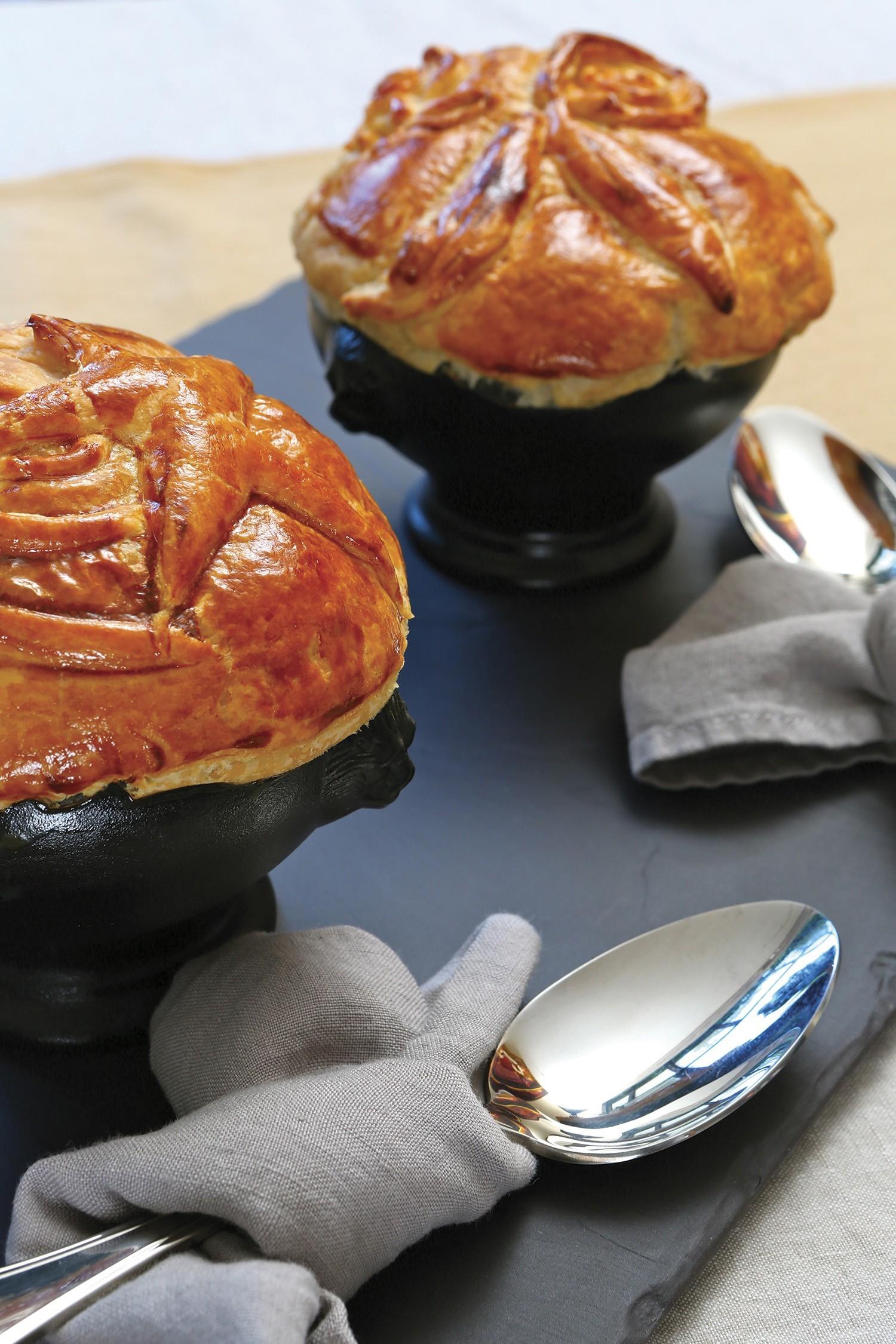 """""""Soupe Lutée"""" with Foie Gras"""
