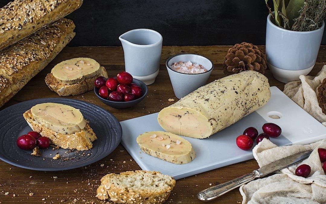 Foie gras with salt by LOLETA