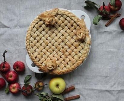 Apple Pie by @elleventy