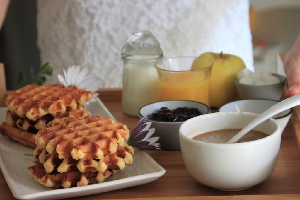 Liegoises waffles by Sarah Tatouille