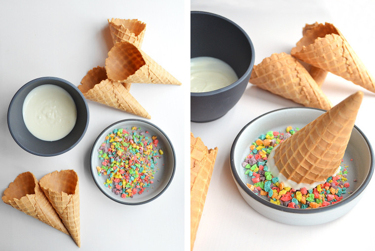 Easy Build-Your-Own Sundaes and Cones by A cook's canvas