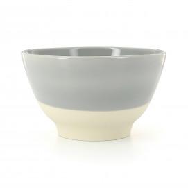 Coloured porcelain bowl - Stratus Grey