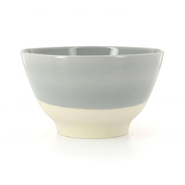 Coloured porcelain bowl - Stratus Grey