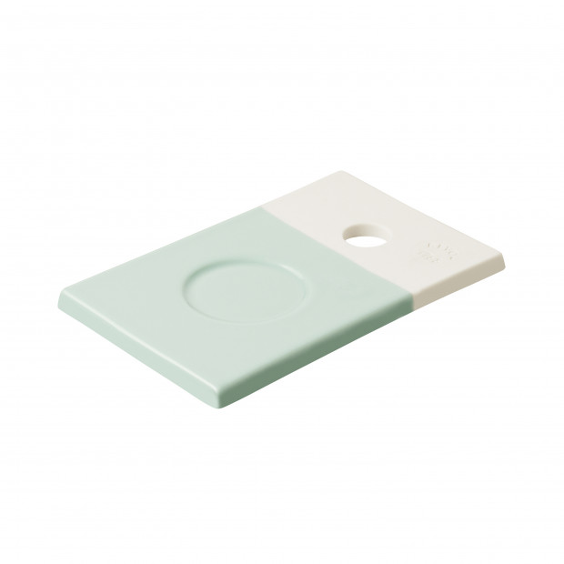 Small coloured porcelain tray - Celadon Green