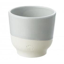 Coloured porcelain cup - Stratus Grey