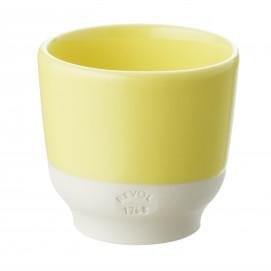 Coloured porcelain cup - Citrus Yellow