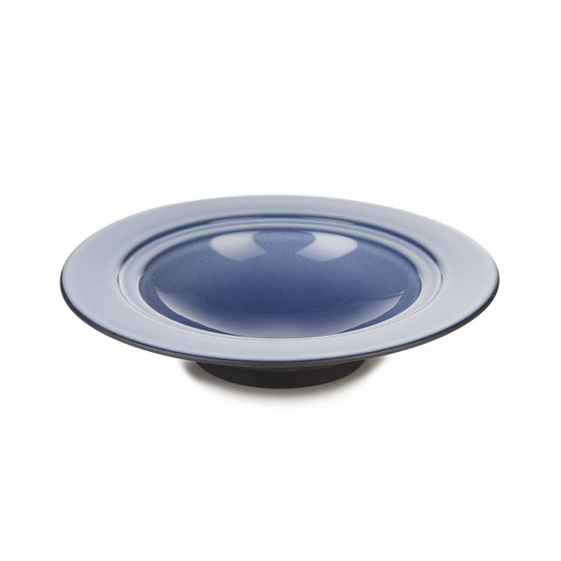 Dim Sum deep plate - Cirrus Blue