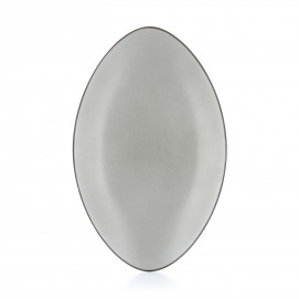 Oval ceramic plate - Pepper