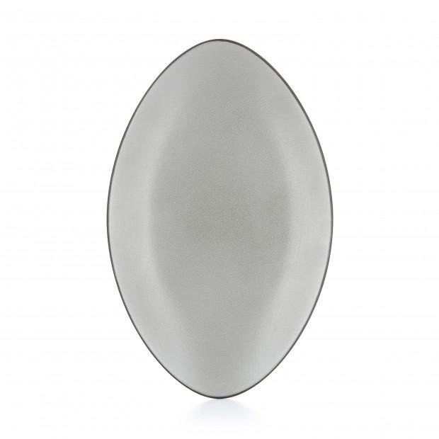 Oval ceramic plate - Pepper