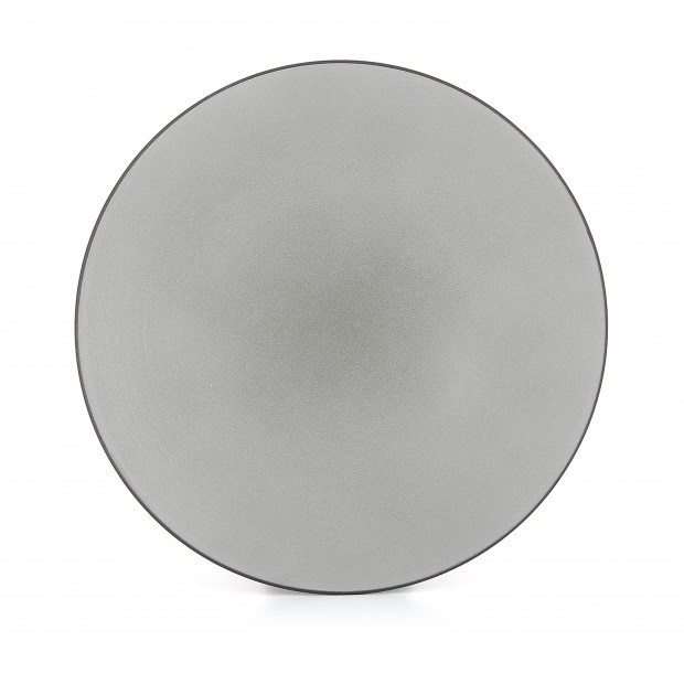 Flat ceramic plate - Pepper