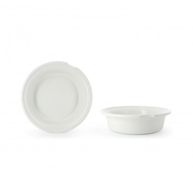 Bain-marie insert for 26 cm casserole dish.