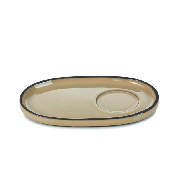 Saucer Caractère Nutmeg