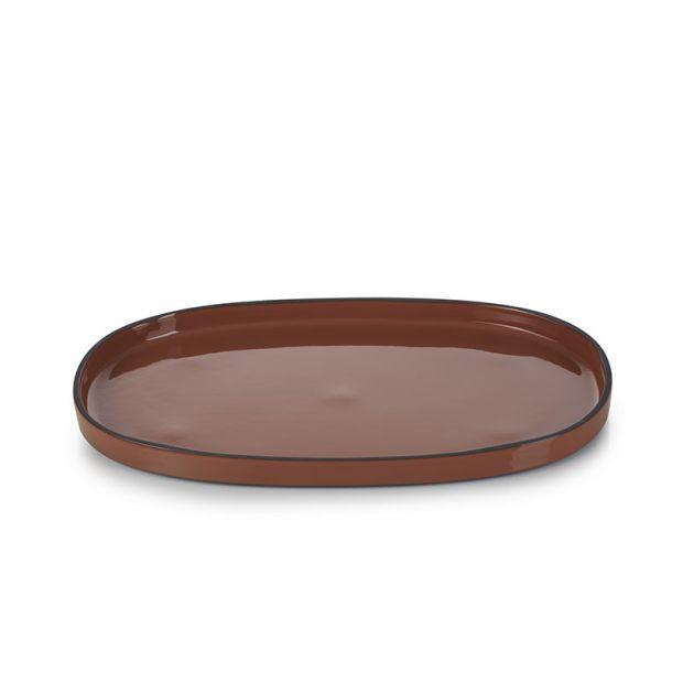 Caractère service plate Cinnamon