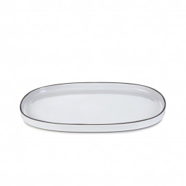 CARACTERE OVAL DISH