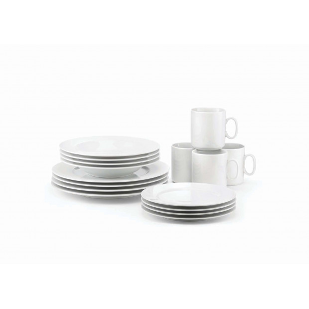 16-piece porcelain set for the dining table