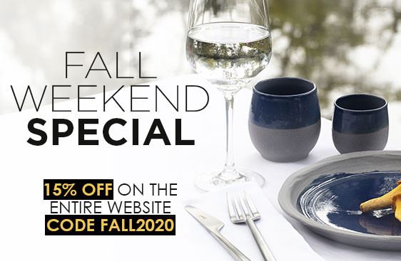 FALL Weekend SPECIAL : 15% Off on the Entire Website